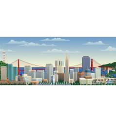 San Francisco vector image