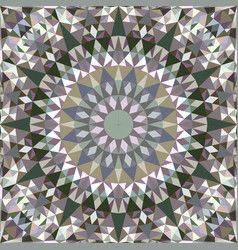 Triangle seamless abstract mosaic vector