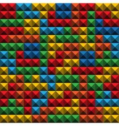 Tetris Tiles background vector image vector image