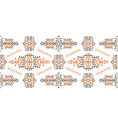 African ethnic style stripe ornament vector