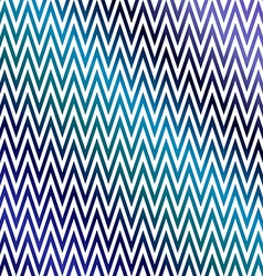 Blue colorful chevron pattern background vector image