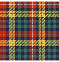 Colors check plaid seamless fabric texture vector