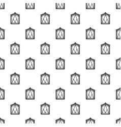 Fairy window frame pattern seamless vector