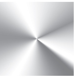high contrast circular brushed aluminum texture vector image