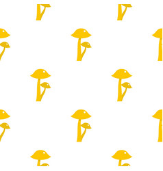honey fungus pattern flat vector image