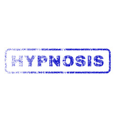 Hypnosis rubber stamp vector