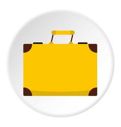 little bag icon circle vector image