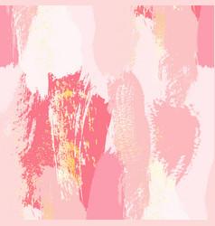 living coral brush stroke splash with glitter vector image