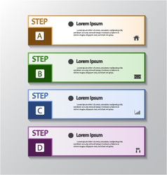 Modern design banners template graphic vector image