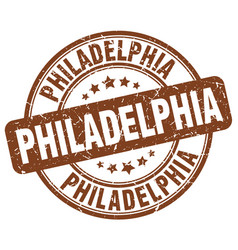 Philadelphia stamp vector