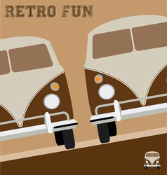 Retro Fun Design vector image