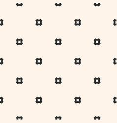 seamless pattern simple geometric texture vector image