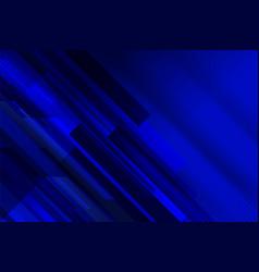 Stripe tech blue background template vector