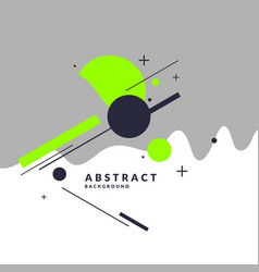 Trendy abstract background composition vector