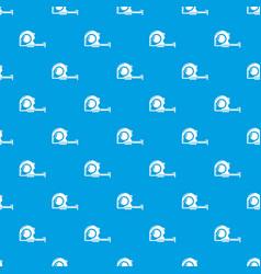 Yardstick pattern seamless blue vector