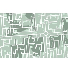 map of the city vector image