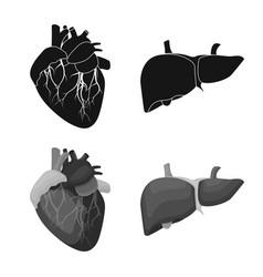 Body and human symbol set vector