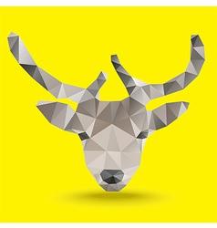 deerHead vector image