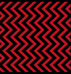 Geometric seamless pattern black and red triangle vector