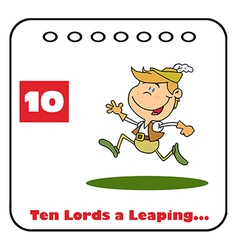 Ten lords a leaping vector