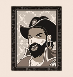 jolly roger pirate vector image vector image