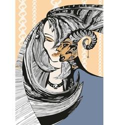 Maya and Satires vector image
