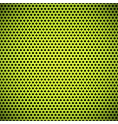 Green Seamless Circle Perforated Grill Texture vector image
