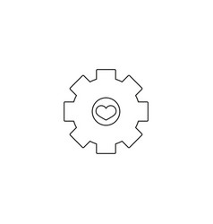 Heart surgery icon style is a flat iconic symbol vector