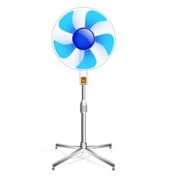 working floor fan vector image vector image