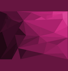 Abstract background with amethyst crystal vector