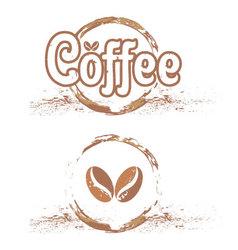 Coffee shop emblems vector