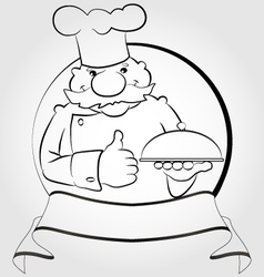 Cook Thumb Up vector image