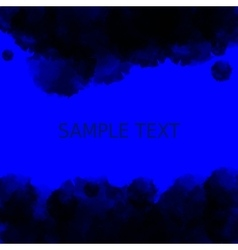 Dark blue deep water background Abstract vector