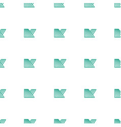 Field icon pattern seamless white background vector