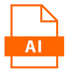 File name extension ai type vector