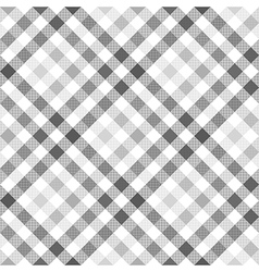 Gray diagonal check shirt seamless fabric texture vector