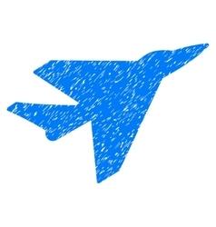 Intercepter Grainy Texture Icon vector