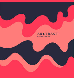 Poster with dynamic waves vector