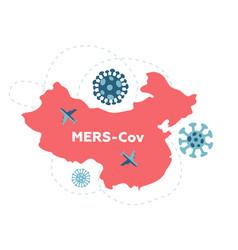 Wuhan travel ban due to coronavirus cov spread vector