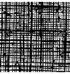 Messy Grid Texture vector image