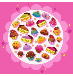 Template designs vector image vector image