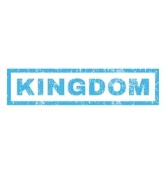 Kingdom Rubber Stamp vector