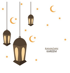 Modern ramadan kareem background vector