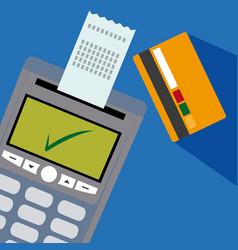 nfc technolgoy payment vector image