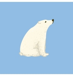 Polar Bear As A National Canadian Culture Symbol vector