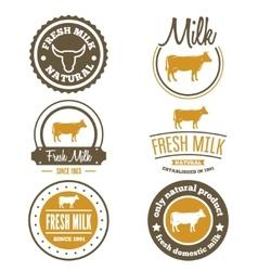 Set of vintage labels logo emblem templates for vector