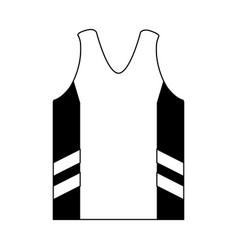 Sleeveles shirt icon image vector