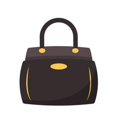 Women fashion bag accesorie cartoon isolated vector