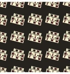 American football pattern Usa sports seamless vector image vector image