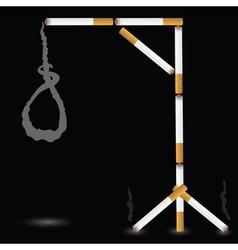 gallows vector image